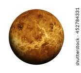 Solar System   Venus. Isolated...