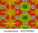 pattern low poly triangle style ... | Shutterstock .eps vector #452799565