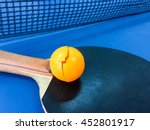 table tennis with pingpong ball ...   Shutterstock . vector #452801917
