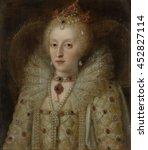Portrait Of Elizabeth I  Queen...