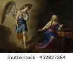 The Annunciation  By Adriaen...