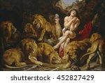 Daniel In The Lions' Den  By...