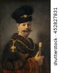 A Polish Nobleman  By Rembrand...