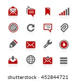 messages vector icons | Shutterstock .eps vector #452844721
