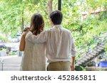 prewedding   love | Shutterstock . vector #452865811