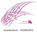abstract lines | Shutterstock .eps vector #452881891