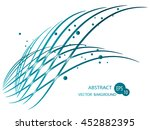 abstract lines | Shutterstock .eps vector #452882395