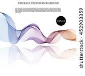 illustration vector abstract... | Shutterstock .eps vector #452903359