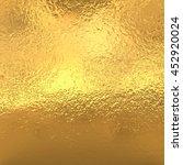gold foil   | Shutterstock . vector #452920024
