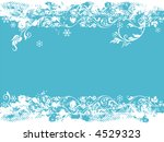 floral elements and christmas... | Shutterstock .eps vector #4529323