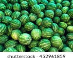 Many Watermelons On The Market...