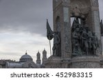 istanbul  turkey  july 16th... | Shutterstock . vector #452983315
