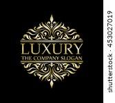 luxury set | Shutterstock .eps vector #453027019