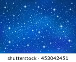 abstract blue background with... | Shutterstock .eps vector #453042451