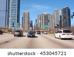 chicago  il   march 25  2016 ... | Shutterstock . vector #453045721