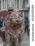 Small photo of Venice Statues and Sculptures abound in the historical city of Northern Italy