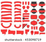 vector illustration of labels... | Shutterstock .eps vector #453098719