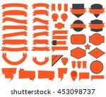 vector illustration of labels... | Shutterstock .eps vector #453098737