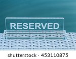 the transparent plate is... | Shutterstock . vector #453110875