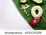 thai traditional jasmine... | Shutterstock . vector #453119209
