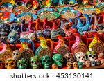 Different Ceramic Souvenirs In...