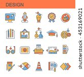 icons design | Shutterstock .eps vector #453169021