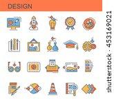 icons design | Shutterstock .eps vector #453169021