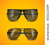photorealistic sunglasses | Shutterstock .eps vector #453211459