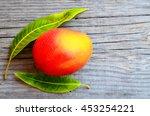 fresh mango fruit and mango... | Shutterstock . vector #453254221