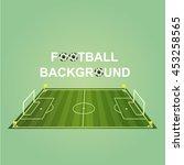 soccer   football design... | Shutterstock .eps vector #453258565