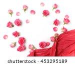 assorted roses heads. various...   Shutterstock . vector #453295189