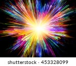 color explosion series.... | Shutterstock . vector #453328099
