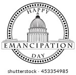 stamp imprint with the capitol  ...   Shutterstock .eps vector #453354985
