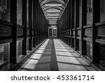 abstract hallway interior of... | Shutterstock . vector #453361714