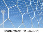 soccer goal net | Shutterstock . vector #453368014