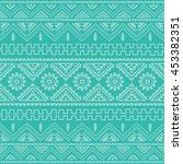 magenta native american ethnic...   Shutterstock .eps vector #453382351