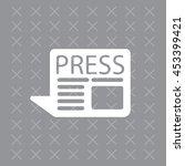 press the icon | Shutterstock .eps vector #453399421