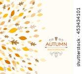 vector illustration of a fall...   Shutterstock .eps vector #453434101