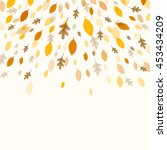 vector illustration of a fall...   Shutterstock .eps vector #453434209