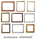 collection of  various vintage... | Shutterstock . vector #453450469