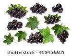 Set Of Blackcurrant Berries ...