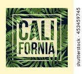 california typography for t...   Shutterstock .eps vector #453459745