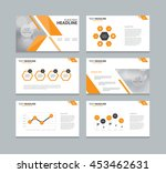 page layout design template for ... | Shutterstock .eps vector #453462631