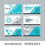 page layout design template for ... | Shutterstock .eps vector #453462691