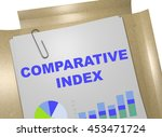 "3d illustration of ""comparative ... 
