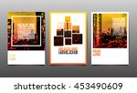 layout design template  cover...   Shutterstock .eps vector #453490609