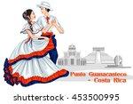 vector design of couple... | Shutterstock .eps vector #453500995