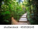 the famous jindalba boardwalk... | Shutterstock . vector #453528145