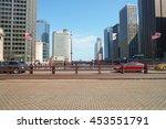 chicago  il   circa march  2016 ... | Shutterstock . vector #453551791