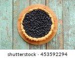 Homemade Open Blueberry Tart...